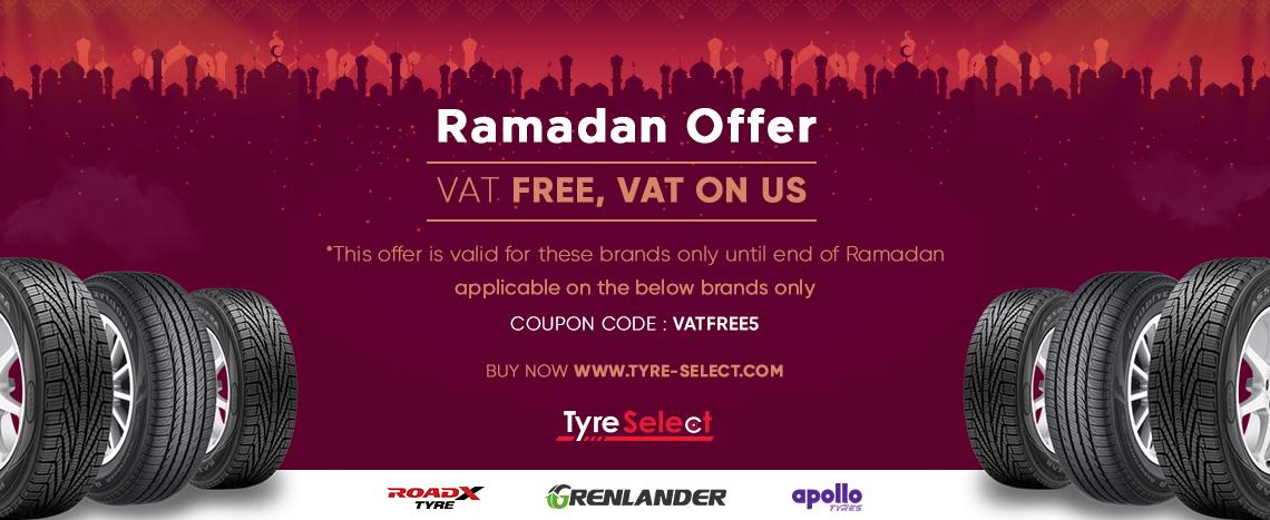 VAT Free, VAT on Tyre-Select.com